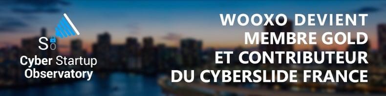 Wooxo devient membre gold et contributeur du CyberSlide France