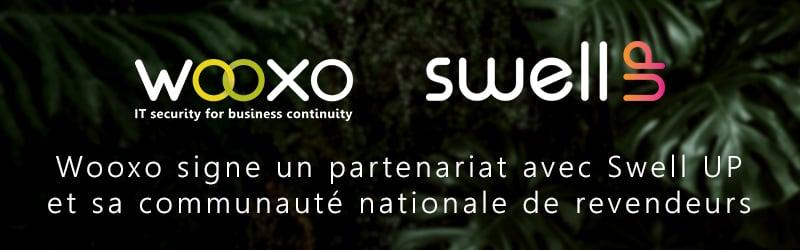 Wooxo signe un partenariat avec Swell Up